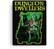 Dungeon Dwellers! Canvas Print