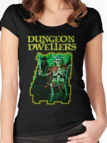 Dungeon Dwellers! Women's Fitted Scoop T-Shirt
