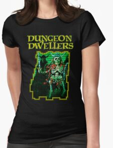 Dungeon Dwellers! Womens Fitted T-Shirt