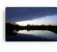 Cloud Over the Lake Canvas Print