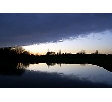Cloud Over the Lake Photographic Print