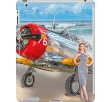 Miss Madison Louise - beach warbird iPad Case/Skin