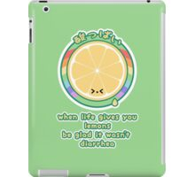 When Life Gives You Lemons iPad Case/Skin