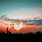 Sunset on Leith by Den McKervey