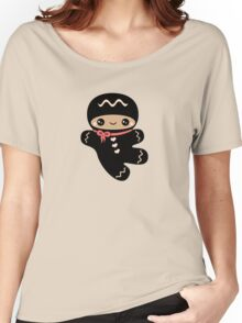Cute Ninjabread Man Women's Relaxed Fit T-Shirt