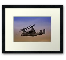 Osprey In Flight Series 2 of 4. Framed Print