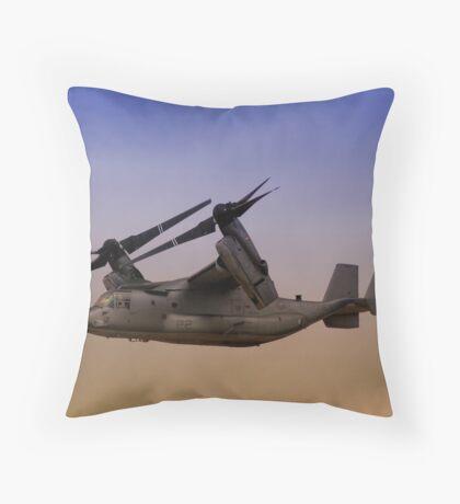 Osprey In Flight Series 2 of 4. Throw Pillow
