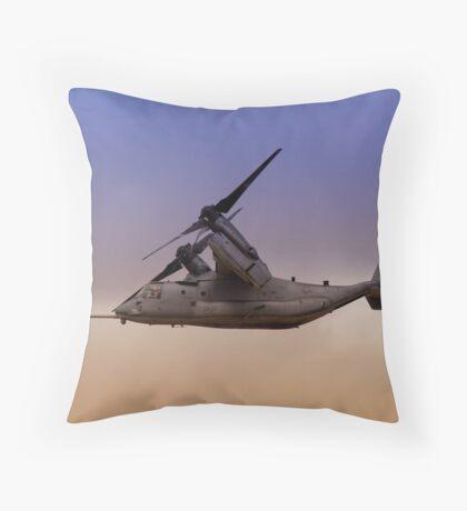 Osprey In Flight Series 3 of 4. Throw Pillow