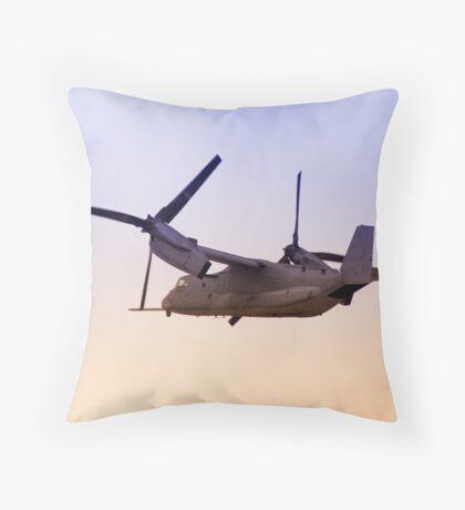 Osprey In Flight Series 4 of 4. Throw Pillow