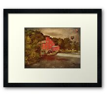 Balloons Over Clinton Framed Print