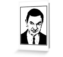 Mr Bean Greeting Card