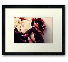 Russet Roses  Framed Print