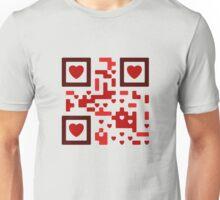 Love code Qr Unisex T-Shirt