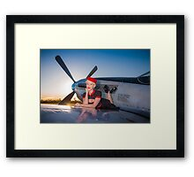 Annie Fawn and the Mustang Framed Print