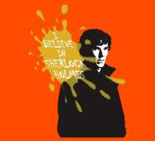 I Believe in Sherlock Holmes - Sherlock BBC Kids Tee
