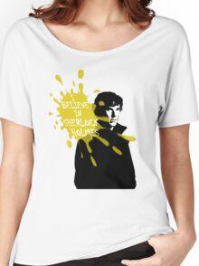 I Believe in Sherlock Holmes - Sherlock BBC Women's Relaxed Fit T-Shirt
