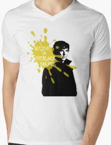 I Believe in Sherlock Holmes - Sherlock BBC Mens V-Neck T-Shirt