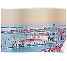 A View Of Venice From The Belltower Poster