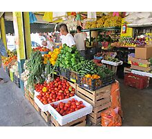 Fruits and Vegetables I - Frutas y Verduras  Photographic Print