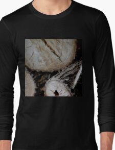 Stacked Logs Long Sleeve T-Shirt
