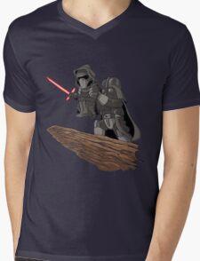 Star Wars Lion King Mens V-Neck T-Shirt