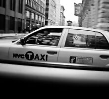 New York Minute Taxi Series by alexingram