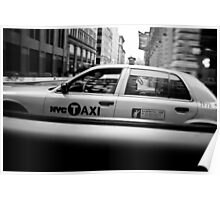 New York Minute Taxi Series Poster