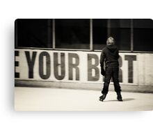You Bet  Canvas Print