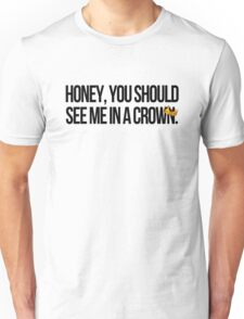 THE CROWNED CRIMINAL Unisex T-Shirt