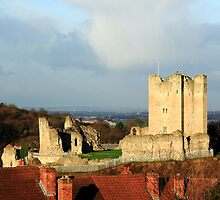 Conisbrough Castle by John Dunbar