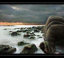 Beachy head seascape by Ben  Warren