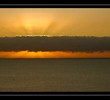 Beachy head cloudy sunrise by Ben  Warren