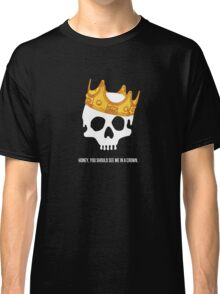 CROWNED SKULL Classic T-Shirt