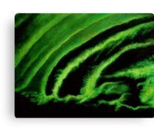 Uranium Green Canvas Print