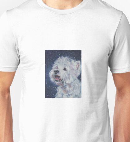 West Highland Terrier Fine Art Painting Unisex T-Shirt