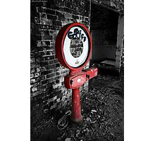 The weighting station  Photographic Print