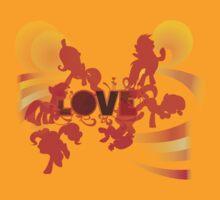 My Little Pony Love by Evildoctermcbob