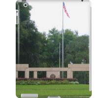 Colonnade at the Florida National Cemetery in Bushnell. iPad Case/Skin