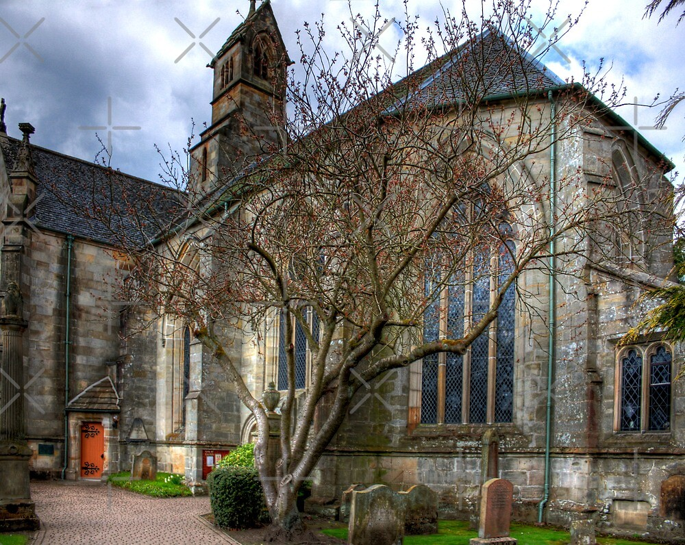 Mid Calder Parish Church by Tom Gomez