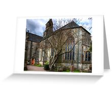 Mid Calder Parish Church Greeting Card