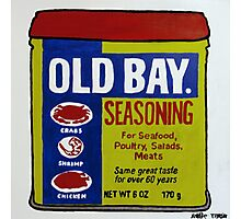 Old Bay Can Photographic Print