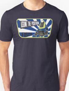 FISTO-ASSUME THE POSITION Unisex T-Shirt