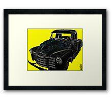 Cool Chevvy Framed Print