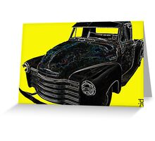 Cool Chevvy Greeting Card