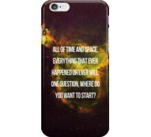SO, PLANETS, WANNA SEE SOME? iPhone Case/Skin