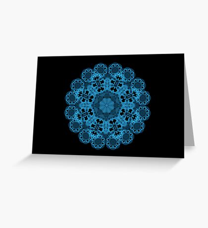 Blue Magic Greeting Card