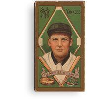 Benjamin K Edwards Collection Charles Hemphill New York Yankees baseball card portrait Canvas Print