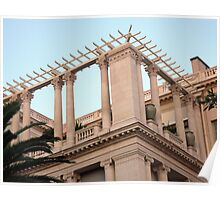 Ionic And Corinthian Columns Poster