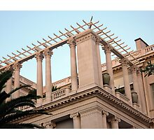 Ionic And Corinthian Columns Photographic Print