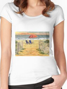 The Day Awaits Women's Fitted Scoop T-Shirt